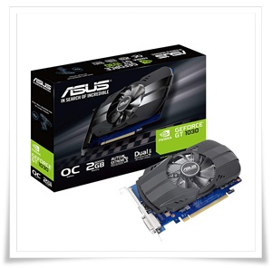 ASUS PH-GT1030-O2G GeForce GT 1030 2GB DDR5 Graphic Card