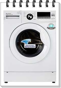 BPL 6.5 kg Fully-Automatic Front Loading Washing Machine