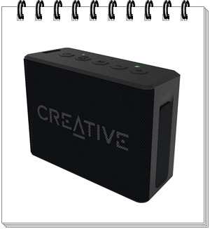 Creative Muvo 1c Water Resistant Palm Sized Bluetooth Speaker