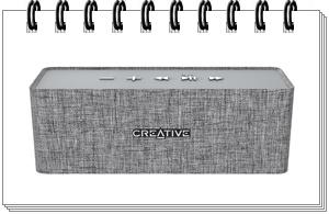 Creative NUNO Bluetooth Wireless Speaker (Grey)