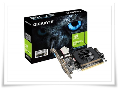 Gigabyte GeForce GV-N710D3-2GL 2GB PCI-Express Graphics Card