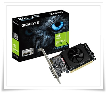Gigabyte Geforce GT 710 2GB DDR5 Graphics Card