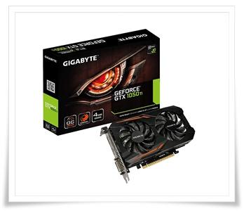 Gigabyte Technology GeForce GTX 1050 Ti Windforce OC 4GB Graphics Card