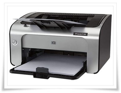 HP LaserJet P1108 Single Function Monochrome Laser Printer