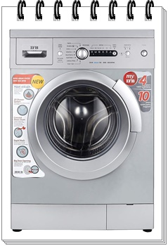 IFB 6 kg Fully-Automatic Front Loading washing machine - best washing machine under 20000