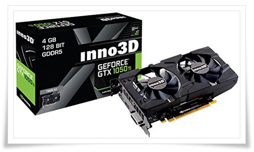 INNO3D N105T-1DDV-M5CM Gaming Graphic Card