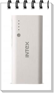 Intex IT-PB12.5K 12500 mAh Power Bank (White-Grey)