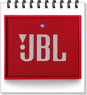 JBL GO Portable Wireless Bluetooth Speaker with Mic (Red) - best bluetooth speakers in india under 2000, best bluetooth speaker under 2000, best bluetooth speakers under 2000 2020