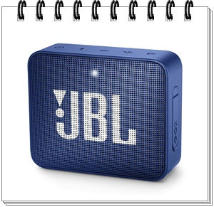 JBL Go 2 Portable Bluetooth Speaker with mic (Deep Sea Blue)