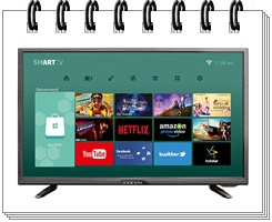 Kevin K32CV338H 32 Inches HD Ready LED Smart TV