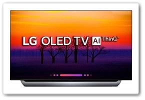 LG 55 Inches 4K UHD OLED Smart TV OLED55C8PTA