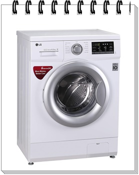 LG 6.5 kg Fully-Automatic Front Loading Washing Machine - best washing machine under 30000, best washing machine under 30000 in india 2019, best washing machine under 30000 rs
