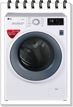 LG 6.5 kg Inverter Fully-Automatic Front Loading Washing Machine - best washing machine under 30000, best washing machine under 30000 in india 2019, best washing machine under 30000 rs