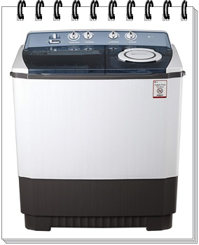 LG 9.0 kg Semi-Automatic Top Loading Washing Machine - best top load washing machine under 20000