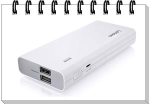 Lenovo 13000mAH Lithium Ion Power Bank (White)
