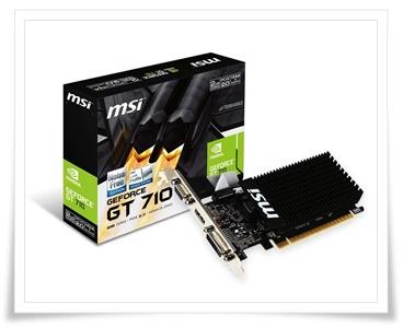 MSI Geforce GT 710 2GB DDR3 Graphics Card