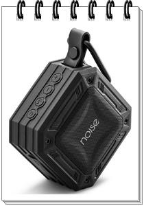 Noise Aqua Mini 5W Waterproof Wireless Portable Speaker (Black)