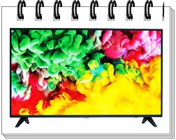 Philips 50 inches 6100 Series 4K LED Smart TV 50PUT6103S-94