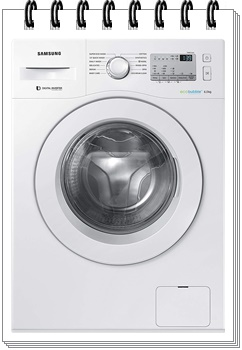 Samsung 6 kg Fully-Automatic Front Loading Washing Machine - best washing machine under 30000, best washing machine under 30000 in india 2019, best washing machine under 30000 rs