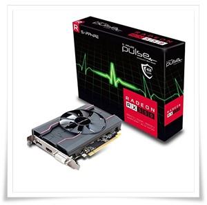 Sapphire Pulse Radeon RX 550 4GB GDDR5 HDMI - DVI-D - DP OC Graphics Card