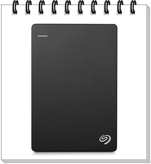 Seagate 2TB Backup Plus Slim USB 3.0 External Hard Drive - external hard drive 2tb, best external hard drive 2tb in india 2020