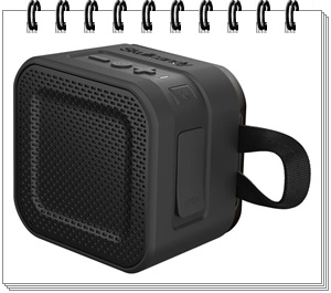 Skullcandy Barricade Mini Bluetooth Speakers (Black)