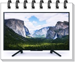 Sony 50 Inches Full HD LED Smart TV KLV-50W662F