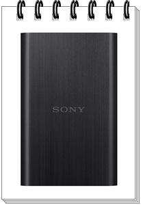 Sony HD-E2-BO2 2TB USB 3.1 - external hard drive 2tb, best external hard drive 2tb in india 2020
