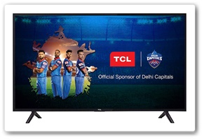 TCL 40 Inches Full HD LED Smart TV 40S62FS