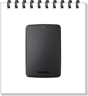 Toshiba Canvio Basics 2TB USB 3.0 External Hard Drive - external hard drive 2tb, best external hard drive 2tb in india 2020