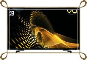 VU 43 Inches Full HD Smart LED TV 43PL