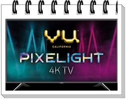 VU 55 inches Pixelight 4K HDR Smart LED TV 55QDV