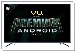 VU 65 Inches 4K Ultra HD Smart LED TV 65 OA