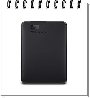 WD Elements 2TB Portable External Hard Drive - external hard drive 2tb, best external hard drive 2tb in india 2020