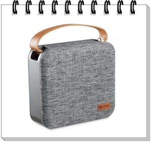 Zoook ZB Rocker Plush Bluetooth Speaker (Steel Grey)