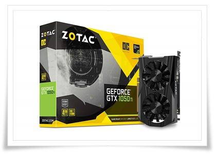 Zotac GeForce GTX 1050 Ti OC Edition ZT-P10510B-10L 4GB PCI Express Graphics