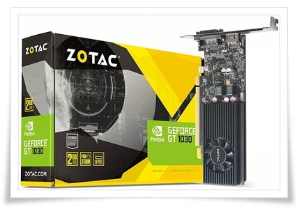 Zotac Nvidia GT 1030 2GB GDDR5 Graphic Card
