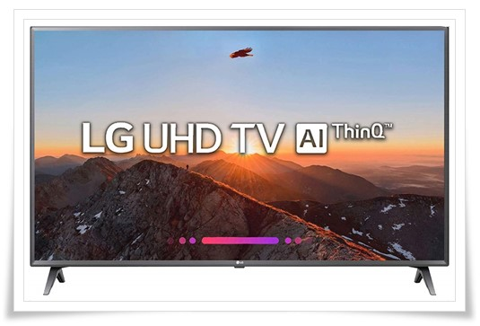 LG 50 Inches 4K UHD LED Smart TV 50UK6560PTC - best tv under 60000