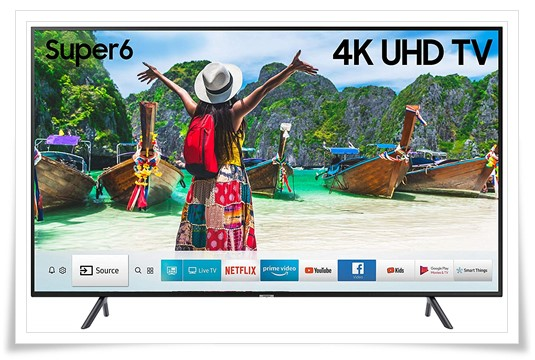 Samsung 50 Inches UA50NU6100 4K UHD LED Smart TV