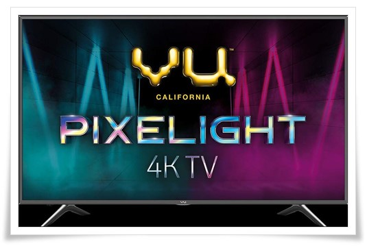 VU 65 Inches Pixelight 4K Ultra HD Smart LED TV 65QDV