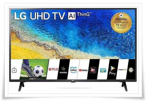 LG 43-Inch 43UM7290PTF 4K UHD Smart LED TV