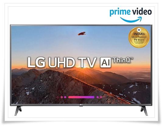 LG 50 Inches 4K UHD LED Smart TV 50UK6560PTC