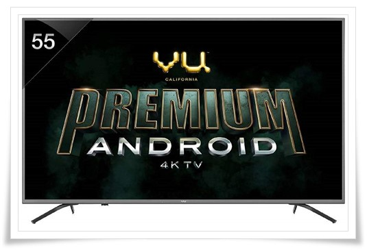 VU 55 Inch 4K Ultra HD Smart 55 OA LED TV