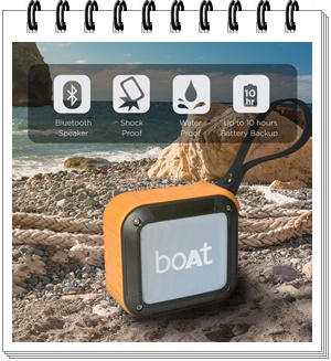 boAt Stone 200 Portable Bluetooth Speakers - best bluetooth speakers in india under 2000, best bluetooth speaker under 2000, best bluetooth speakers under 2000 2020