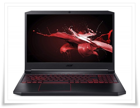 Acer Nitro 7 AN715-51 9th Gen Core I5 15.6-Inch Full HD IPS Thin And Light Gaming Laptop