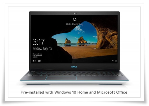 Dell Gaming-G3 3590 15.6-Inch FHD Laptop