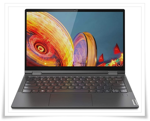 Lenovo Yoga C640 81UE0034IN 13.3-Inch FHD IPS Convertible Laptop