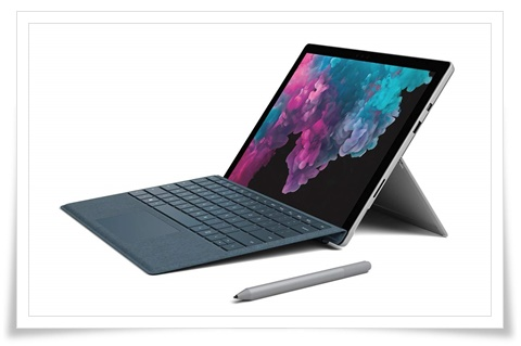 Microsoft Surface Pro 6 LGP-00015 12.3 Inch Touchscreen 2-In-1 Laptop