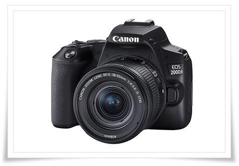 Canon EOS 200D II 24.1MP Digital SLR Camera + EF-S 18-55mm f4 is STM Lens - best dslr under 60000, best dslr camera under 60000, best dslr camera under 60000 in 2020