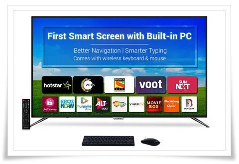 CloudWalker 65 Inches 65SUA7 4K Ultra HD Smart LED Screen